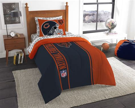 chicago bears comforter nfl chicago bears twin size bed in a bag buy at team