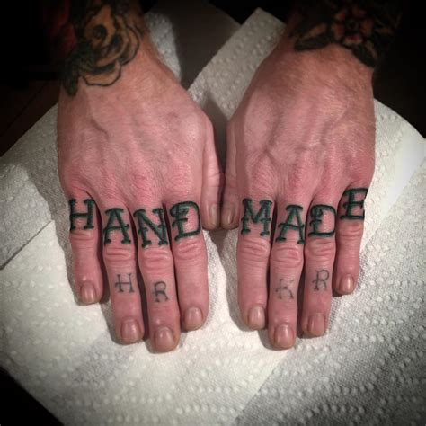 knuckle tattoos 120 best knuckle designs meanings self