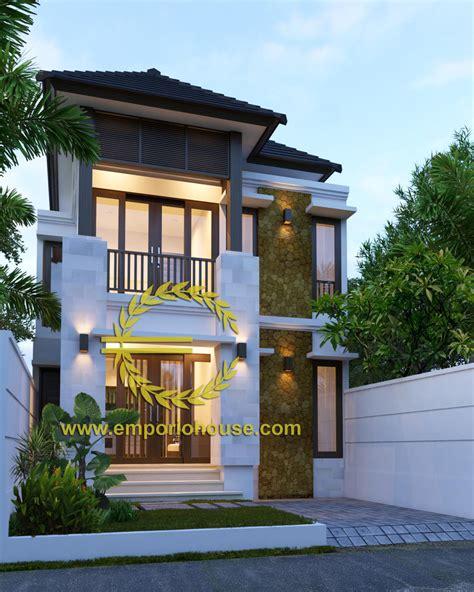 desain rumah villa 1 lantai desain rumah 2 lantai 4 kamar lebar tanah 7 meter dengan