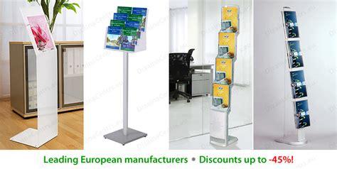 Dispenser Pertamini brochure racks free standing pertamini co