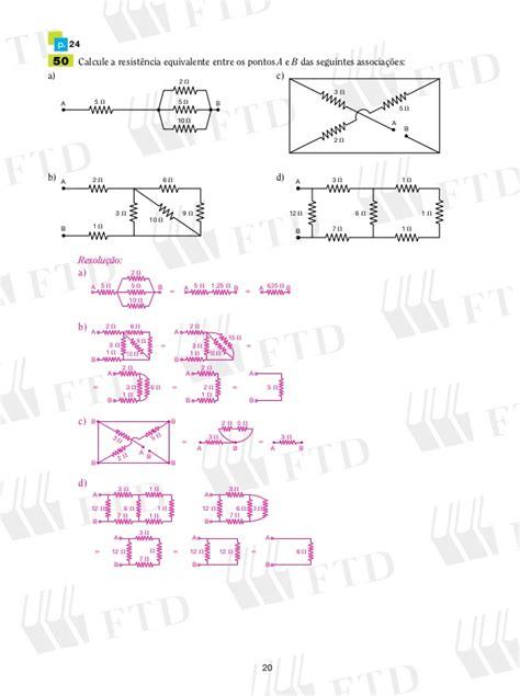 a resistencia do resistor equivalente da associação c 225 lculos de resist 234 ncias