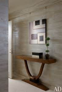 Foyer Console Contemporary Entrance Hall By Penny Drue Baird Ad