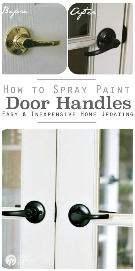 How To Spray Paint Cabinet Hardware by Only Best 25 Ideas About Paint Door Knobs On