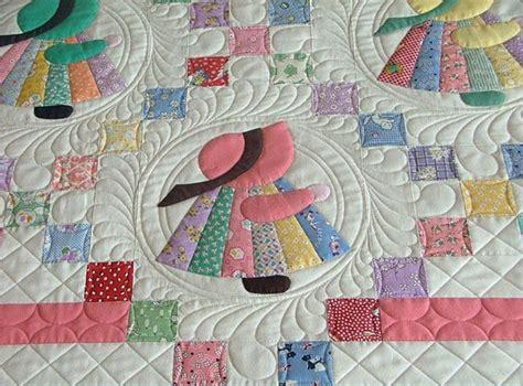 sunbonnet sue quilt block pattern images