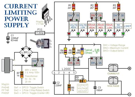bench power supply circuit how to build a simple current limiting bench power supply