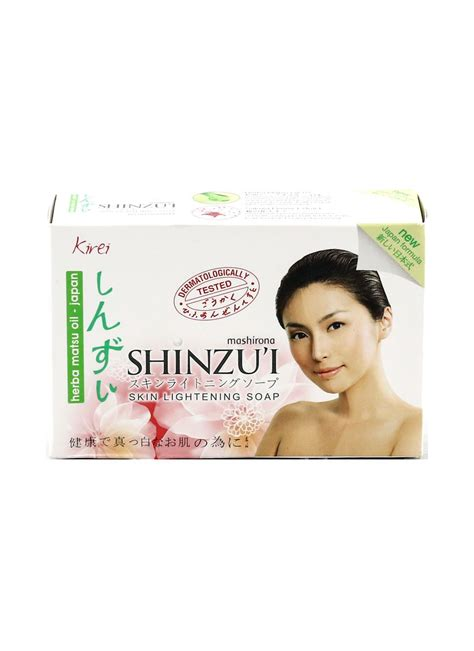 Sabun Shinzui shinzu i sabun mandi skin lightening kirei box 90g klikindomaret