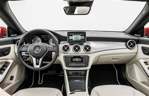 future mercedes interior 2014 mercedes benz cla250 first look photo gallery
