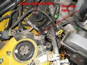 alternator removal