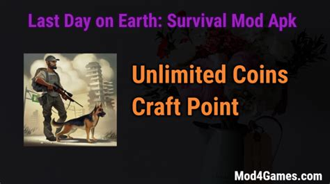 mod game last day on earth last day on earth survival mod apk archives mod4games com