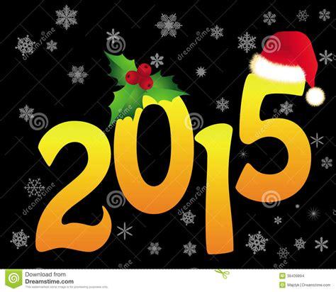 imgenes de navidad feliz navidad 2015 figuras douradas do natal em 2015 ilustra 231 227 o do vetor