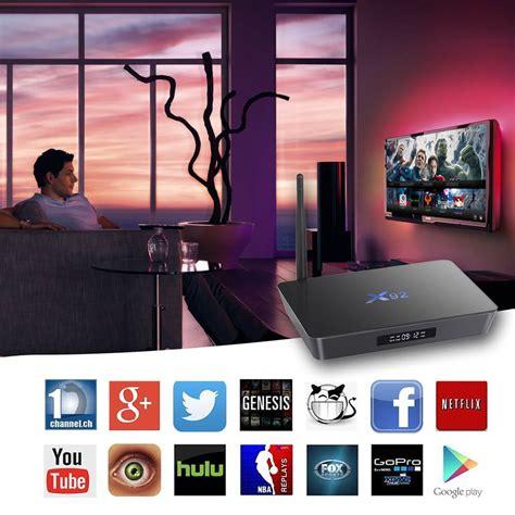 Android Tv Box X92 Os 60 Amlogic S912 Octa Ram 2gb Rom 16gb x92 amlogic s912 2g 16g 4k 60fps tv box