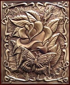 1000  images about Metal Embossing on Pinterest   Metal embossing, Metals and Copper