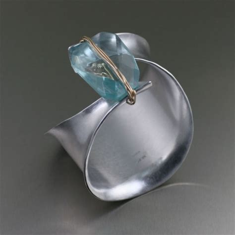 Handmade Aluminum Jewelry - look at my new article top 7 aluminum bracelets for 10th