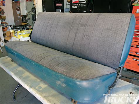 scottsdale upholstery bench seat reupholstery for 1973 1987 chevy c10 s hot