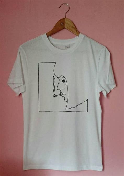 design hoodie simple unisex smoking girl t shirt by solukworkshop on etsy