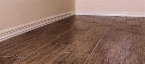 install wood look tile no grout 5 things to keep in mind when considering wood look tile