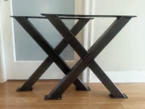 pieds de table en fer metal table legs steel table legs iron table legs x