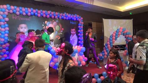 birthday party home decoration ideas in india different birthday party indore radisson india crazy chaps event