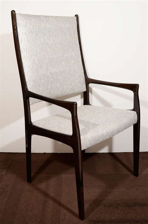High Back Go Anywhere Chair by Set Of Six Modernist High Back Dining Chairs In The Manner