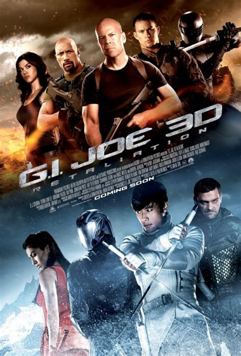 new upcoming 3d movies 2012 movie moron gi joe 2 retaliation new movie poster teaser trailer