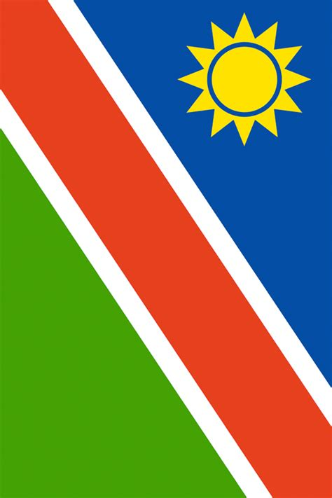 namibia flag iphone wallpaper hd