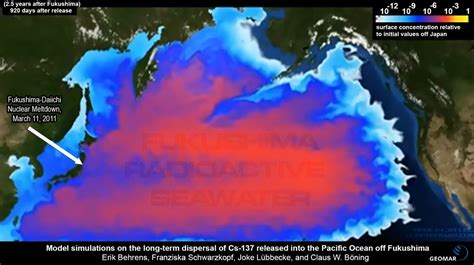 fukushima radiation map fukushima a nuclear catastrophe of epic proportions the millennium report
