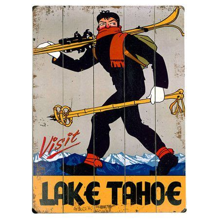 Vintage Poster 60x40cm Motif Kayu 53 53 best images about for your tahoe home on lakes lake cabins and signs