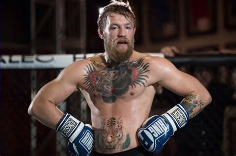 conor mcgregor talks about his gorilla head tattoo on