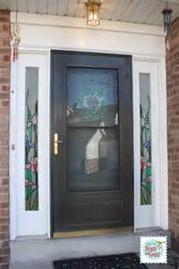 Front Door Side Lights Stained Glass Sidelight Window Clings How To Nest For Less