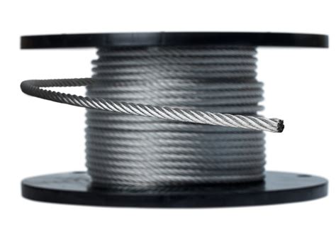 airplane wire cable netting galvanized aircraft cable in spools or custom cut