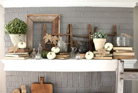 mantles are falling books simple ways to decorate with vintage books an inspired nest