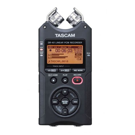 tascam dr 40 digital portable recorder at gear4music