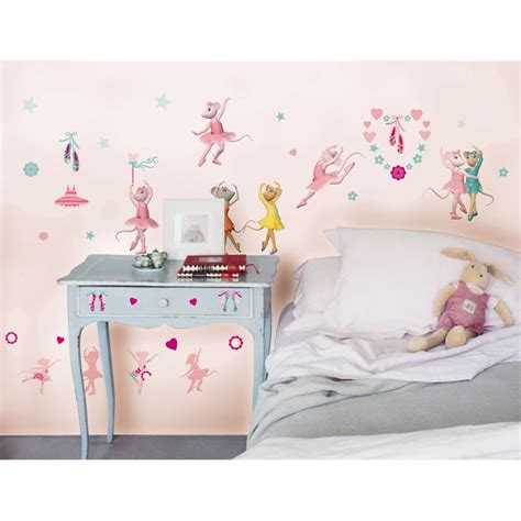 ballerina wall stickers ballerina stikarounds 48 wall stickers new ebay