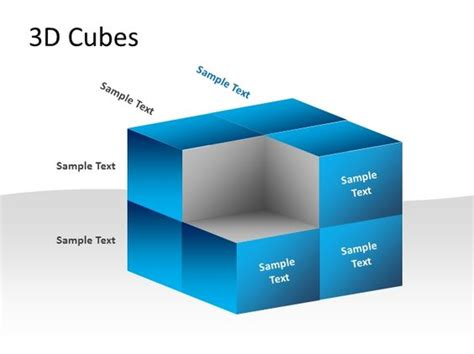 3d Cubes Template For Powerpoint Pptx Powerpointpresentation Ppt 3d Powerpoint Templates Powerpoint Cube Template