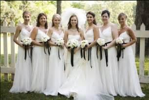 wedding bridesmaid dresses ideas power to personalize your wedding wedding trend white