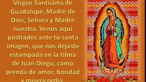 imagenes y oraciones ala virgen de guadalupe virgen de guadalupe ante problemas dificiles oraci 243 n a