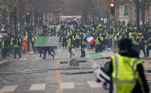 emmanuel macron yellow vests france yellow vest protests 75 000 protest against
