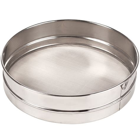10 Stainless Steel Sieve 10 quot stainless steel sieve