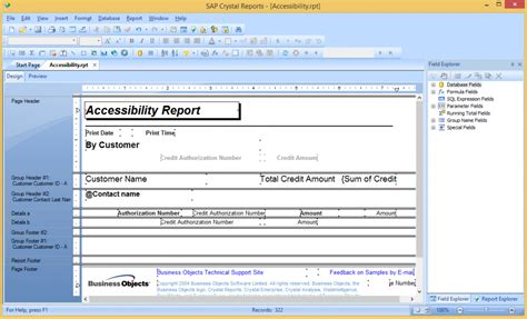crystal report sections migrating from crystal report subsections to flexreport