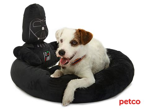 star wars dog bed petco s star wars pet fans collection for sith tzus jedi