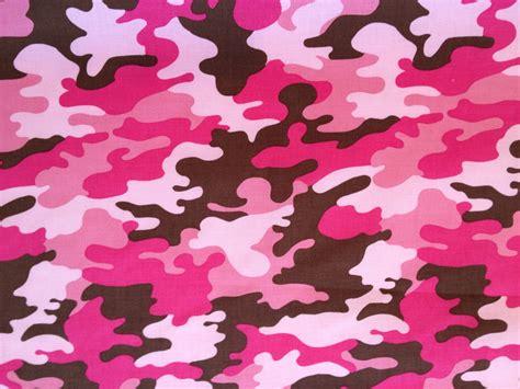 pink military pattern robert kaufman pink camo
