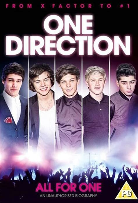 1d Poster 6 poster for one direction all for one flicks co nz