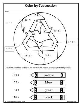 Earth Day NO PREP Printables - First Grade Common Core by
