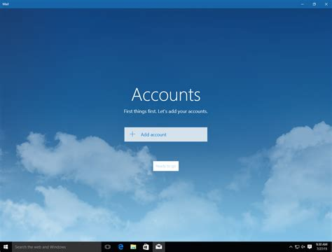 beautiful mail windows 10 mail beautiful but bug ridden ars technica
