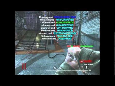 waw mod menu tutorial cod waw mod menu usb youtube
