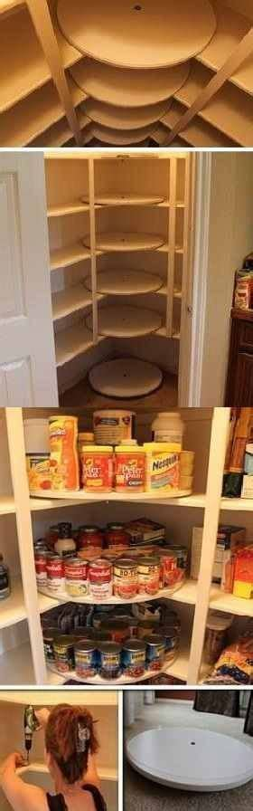 Lazy Susans For Pantry by Diy Lazy Susan Pantry For The Home