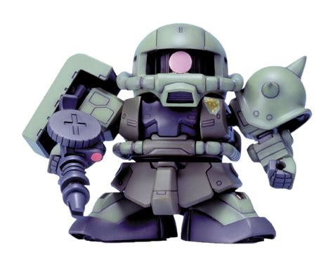 bandai sd gundam bb senshi no 218 zaku ii f type new f s
