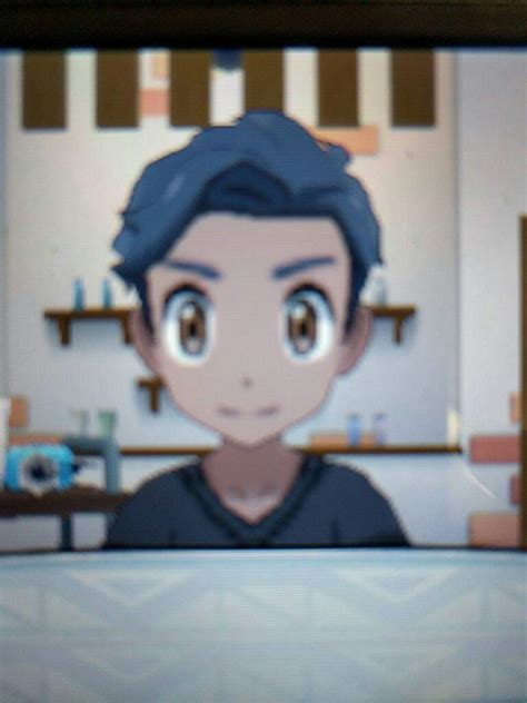 hairstyles in pokemon moon male spoilers sun and moon male hairstyles pok 233 mon amino