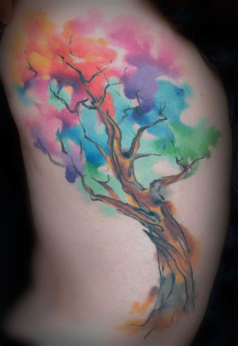 watercolor tattoo philly 1000 ideas about watercolor tree on