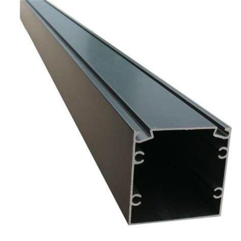 Aluminum Screen Room Kits by Ez Screen Room 8 Ft X 2 In X 2 In Bronze Screen Room Aluminum Extrusion With Spline Track